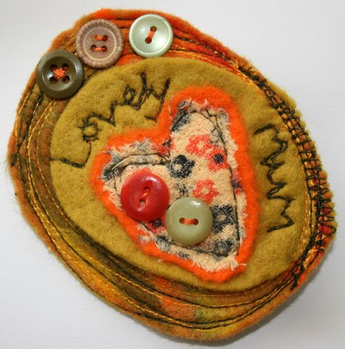 Lovely Mum brooch whole