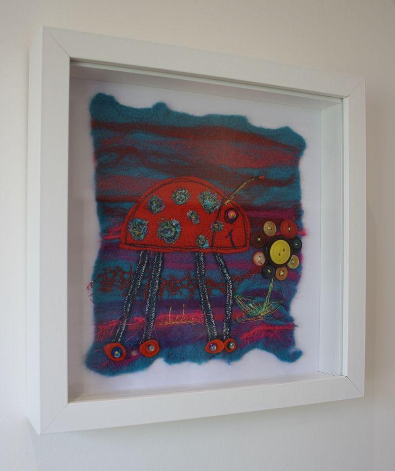 Ladybug on wall 2