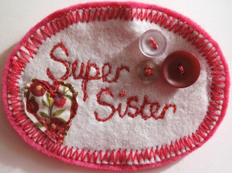 Super sister close up
