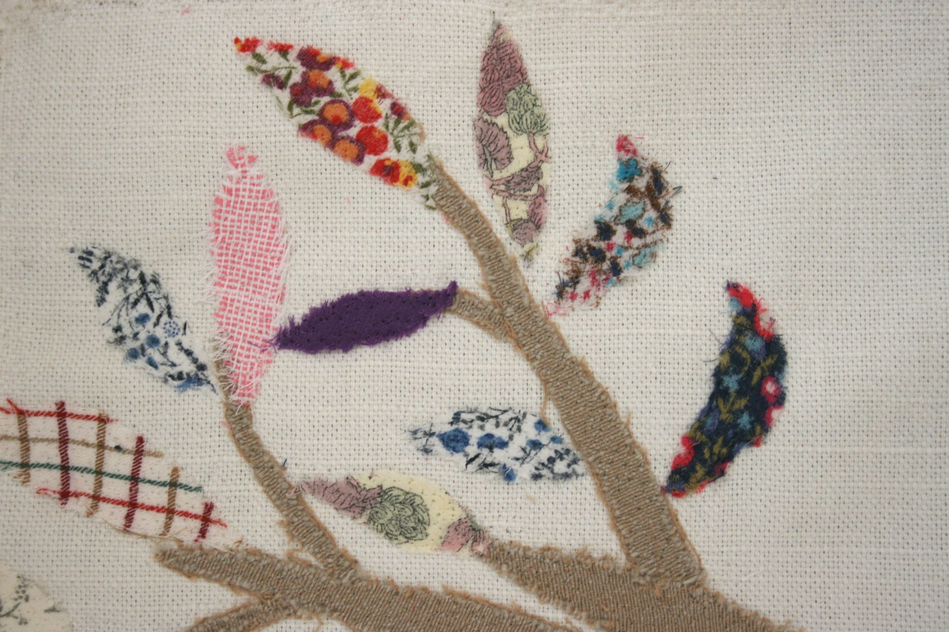 Family tree stage 1 close up on leaves 2