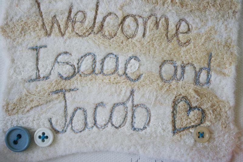 Jacob and Isaac close up on names