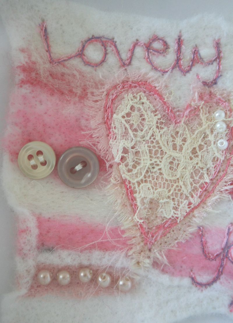 Lovely you close up on heart