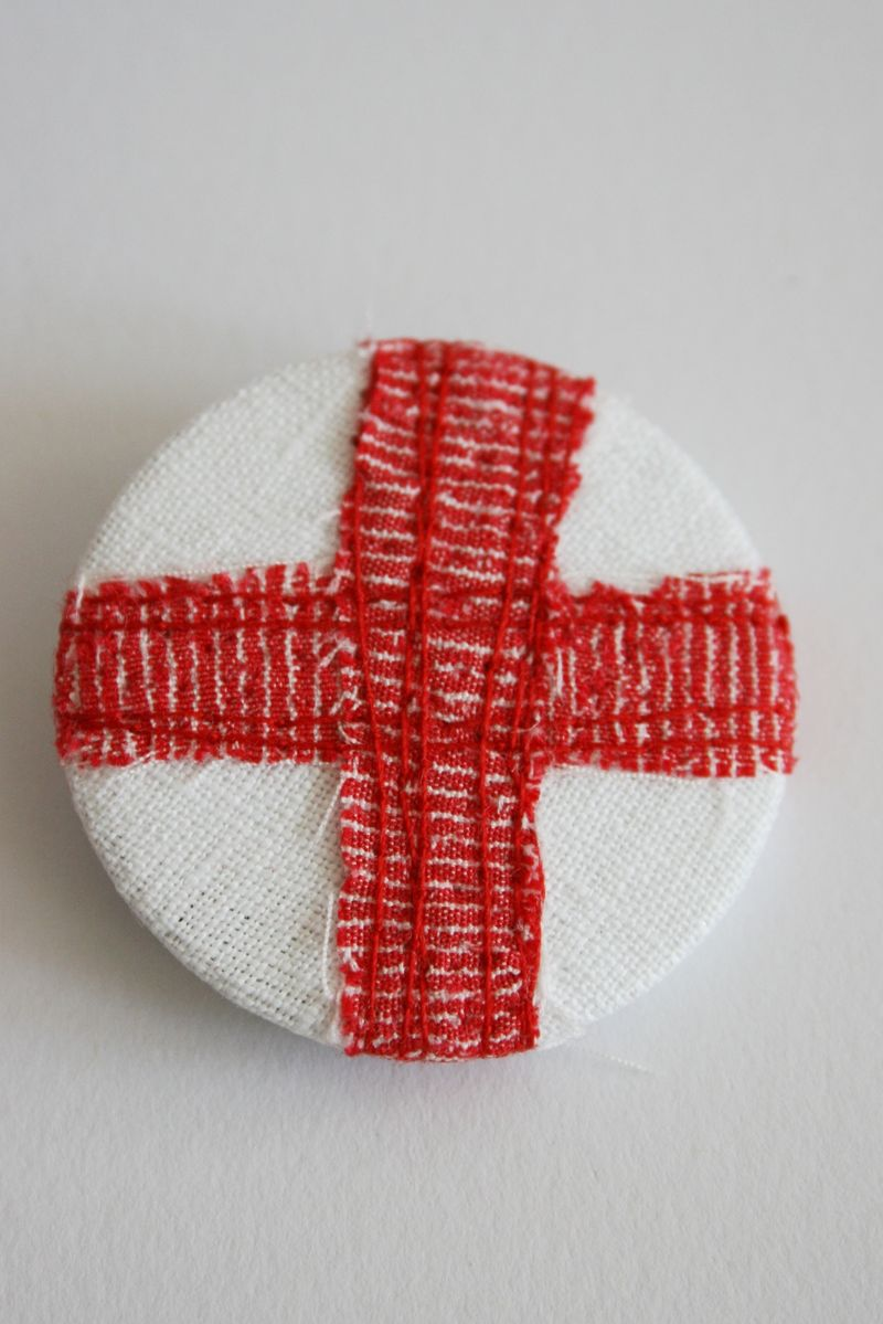 St George England Flag whole badge